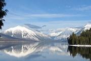 Озеро на территории ледникового парка в Монтане. // nps.gov