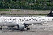 Самолет альянса Star Alliance // Airliners.net