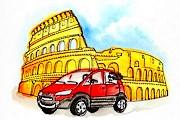 Таксисты Рима позаботятся о своем имидже. // blogspot.com