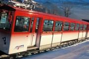 Поезд на горе Риги // rigi.ch