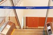 Один из эскалаторов чистой зоны Шереметьево-3 в начале работы терминала // Travel.ru
