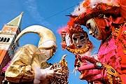 Карнавал в Венеции - один из самых популярных в мире. // theparistraveler.com