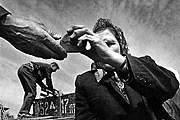 """На выставке представлены работы классиков литовской фотографии. //  Александрас Мацияускас. Из серии """"Колхозный рынок"""" / museum.ru"""