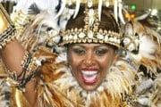 Карнавал - самое красочное событие в Бразилии. // pap.com.pl