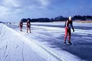Лед на трассах достаточно толстый. // xray.bmc.uu.se