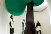 Вязаное дерево - один из экспонатов. // isabelberglund.dk