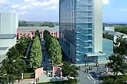 Отель расположится в центре города. // rezidor.com