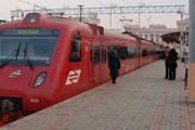 """Поезд """"Аэроэкспресса"""" // Travel.ru"""