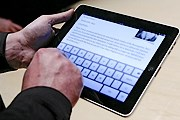 Посетители могут сделать заказ при помощи iPad. // si.wsj.net