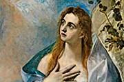 Эль Греко. Мария Магдалина. Одна из работ, представленных на выставке. // vashdosug.ru