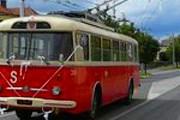 В Пардубице можно прокатиться на старинных автобусах и троллейбусах. // ilovecz.ru