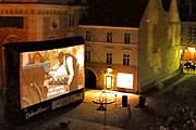 Туристов ждут киносеансы под звездным небом. // piknikfilmowy.pl