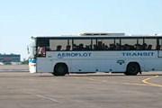 Автобус на перроне Шереметьево // Travel.ru