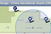 Новый сервис позволяет быстро сориентироваться в аэропорту. // pointinside.com