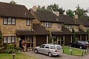 Улица, на которой стоит дом Гарри Поттера, создана на киностудии Leavesden. // encyclopedie-hp.org