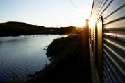 Ночной поезд в Швеции // svea-tour.ru