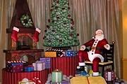 Шоколадный Санта - как настоящий. // santasfavoriteresort.com