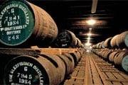 Подвал вискокурни Glenfiddich Distillery // visitbritain.com