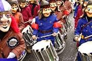Шествие барабанщиков // baconworks.com