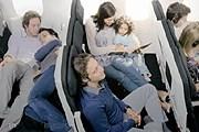 Лежачие места в экономклассе // airnewzealand.com