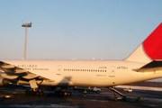 Самолет JAL в аэропорту Домодедово // Travel.ru