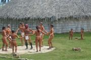 Chorro de Maita в провинции Ольгин - первый этнографический музей Кубы. //