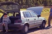 Россияне все чаще путешествуют по стране на машинах. // iStockphoto