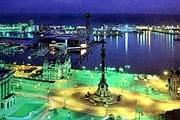 Туристы познакомятся с вечерней Барселоной. // postcardexchange.net
