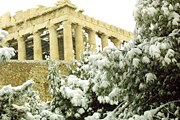 В Греции выпало много снега. // greekreporter.com