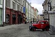 Столешников переулок - одна из самых дорогих улиц Москвы. // moscow-dk.narod.ru