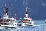 Парад пароходов на озере проводится один раз в 5-6 лет. // lakelucerne.ch