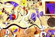 В своих работах Миро создавал собственный мир. // joanmiro.com