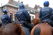 Конная полиция появится на улицах Брюсселя. // ejc-binche.blogspot.com