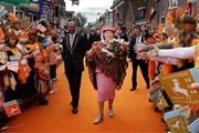 День королевы - национальный праздник Нидерландов. // style-files.com