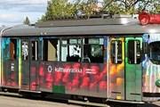 """""""Трамвай культуры"""" - самый необычный вид транспорта в Хельсинки. // helsinki.ru"""