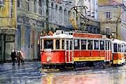 Стоимость проезда в транспорте Праги повысится. // fineartamerica.com