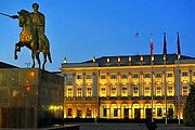Президентский дворец откроется для посетителей. // skyscrapercity.com