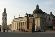 Вильнюс популярен у туристов круглый год. // iStockphoto
