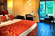 Окна некоторых номеров отеля Rácz Hotel & Thermal Spa выходят в парк. // firstclass.com.au