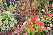 Каждый год территория дворца Хэмптон-Корт превращается в цветущий сад. // squaremeal.co.uk