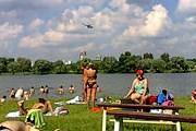 Пляжи Москвы готовы к летнему сезону. // kompasgid.ru