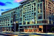 Отель станет первым зданием в современном архитектурном стиле на Тверской. // tesli.com