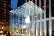 Стеклянный куб над Apple Store // geekosystem.com