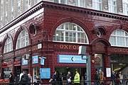 Станции лондонского метро Oxford Circus – более ста лет. // wn.com