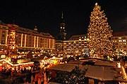 Striezelmarkt в Дрездене // dresdene.de