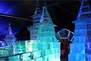 Ледяной замок – часть экспозиции музея. // 1tvnet.ru
