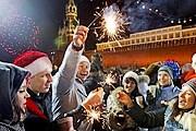 На новогодние праздники туристы съехались в Москву. // finglu.blogspot.com