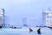 В Венеции замерзли каналы. // 1st-art-gallery.com