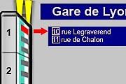 Приложение укажет не только нужный вагон, но и нужную дверь. // tout-paris.org