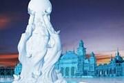 Скульптуры создали мастера из Харбина. // Xinhua